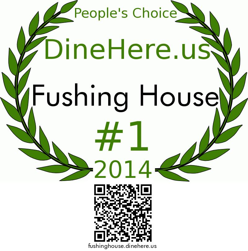 Fushing House DineHere.us 2014 Award Winner